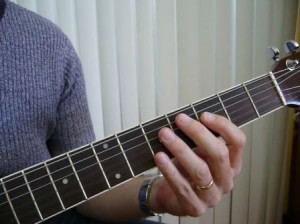 Acordes de guitarra en video